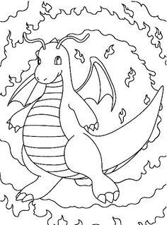 Dibujos para Colorear Pokemon 68  Dibujos para colorear para