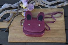 Check out this item in my Etsy shop https://www.etsy.com/listing/497806767/childrens-leather-bag-bunny-bag-bunny