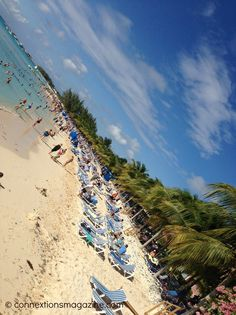 """This is the beach on Grand Turk island in the Caribbean. Click the link for the article """"Margaritaville in Grand Turk - Is it worth the price?""""  #caribbean #margaritaville #grandturk"""