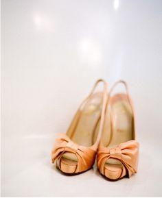 Pretty, perfect, peachy Louboutin ♥