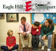 """Arrived at Eagle Hill-Southport around 7:45 and met with one of my favorite educators from Twittter Sharon Plante. She introduced me to the headmaster Ben Powers. What a great mission the school has: """"The mission of Eagle Hill- Southport is to help children with learning disabilities develop a foundation of skills, gain an understanding of their abilities, and prepare for a more traditional program."""""""