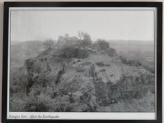 Kangra fort after 1905 earthquake. travelngossip.blogspot.in/2013/10/rare-and-ancient-photos-interesting.html