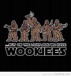 We have Wookies!