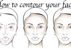 Beauty How to contour your face tips and techniques for each face shape! Makeup Techniques Beauty Contour Face Makeup Techniques for square face shape techniques Tips Face Contouring, Contour Makeup, Contouring And Highlighting, Eye Makeup, Contour Face, Makeup Tips, Contouring Guide, Makeup Brushes, Beauty Makeup