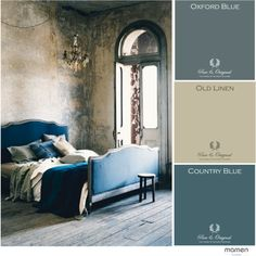True blue. Pure & Original moodboard