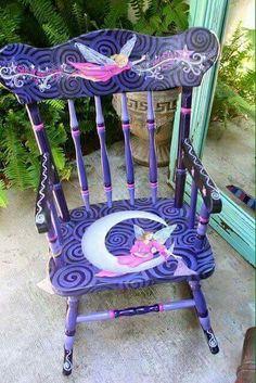 Gepimpte stoel.