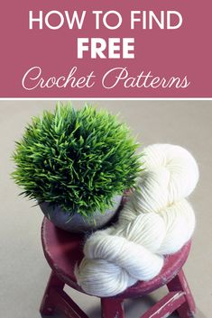 Learn how to find thousands of free crochet patterns with just a couple clicks with this awesome resource! #CreamOfTheCropCrochet #crochet #crochetpattern #freecrochetpattern