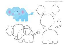 olifantje van vilt Zelf maken? kijk voor vilt eens op www.bijviltenzo.nl