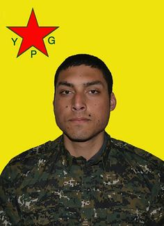 Mario Nunes portuguese ypg fighter R.I.P