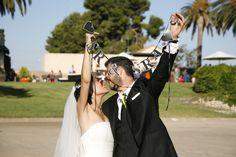 Guirnalda personalizada para la boda de Isma&Laura *yodeBlancoytudeNegro*