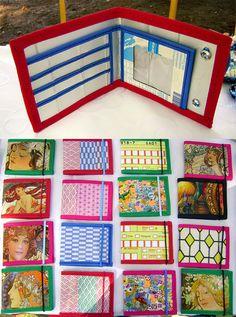 Billeteras recicladas (de tetrapak) ♥ by ♥ Feriado ♥ Amor al reciclado ♥, via Flickr