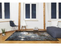 I want one so bad my head hurts. Deep space rugs by Schönstaub.   [via This Isn't Happiness]