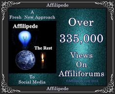 Affilipede Is The Premier Global Social Media Promotion Company On The Internet *~ No One Does Social Media Better *~ No One *~