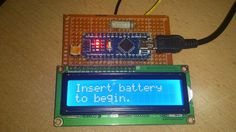 battery tester weekend broject
