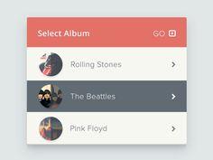 Select Album http://cssdeck.com/labs/full/select-album
