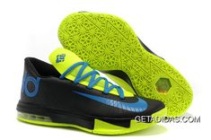 best website bf6f1 00c27 Nike Zoom Kd Vi Blue Green Black TopDeals, Price   87.55 - Adidas Shoes,Adidas  Nmd,Superstar,Originals