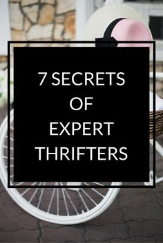 Thrifting is a fun way to save money, funk up your wardrobe and cut down on waste. http://thehonestroot.com/2015/11/23/7-ways-to-become-an-expert-thrifter/