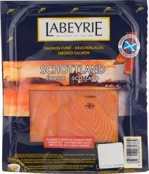 Somon scotian afumat 100g   Labeyrie