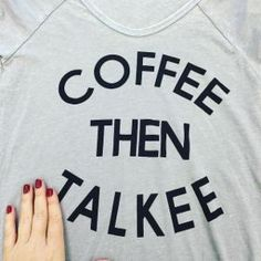coffee then talkee. the rules. Sponsored by Nordstrom Rack.