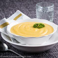 Cream of Pumpkin Soup | Low-Carb, So Simple!