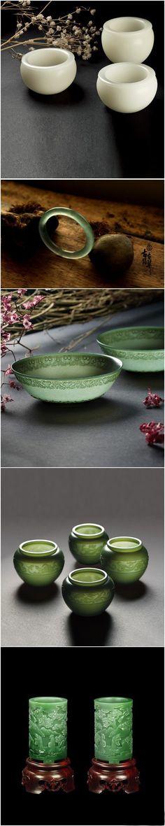 exquisite carved jade