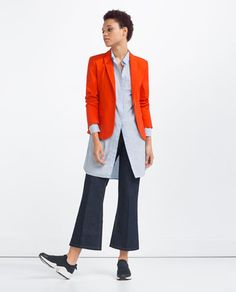 Image 1 of BUTTONED BLAZER from Zara