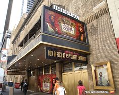 High Res Theatre Marquee unveiling for 'Natasha, Pierre & The Great Comet of…