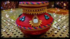 Pot or matki decoration for wedding (DIY)