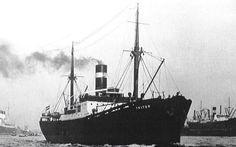 1 juni 1942  Het vrachtschip ss 'Triton' (1928) van de KNSM,   http://koopvaardij.blogspot.nl/2015/06/1-juni-1942.html