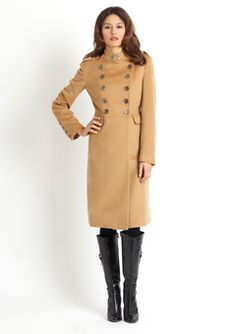 yet another fabulous military inspired coat....