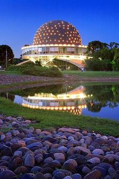 Galileo Galilei Planetarium ~ Palermo, Buenos Aires, Argentina