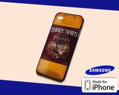 Three Ships Whisky Case for iPhone 5s/5c iPhone 4/4s by KopiMiring, $13.99