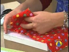 Patchwork no isopor | Artesanato do SABOR DE VIDA - YouTube