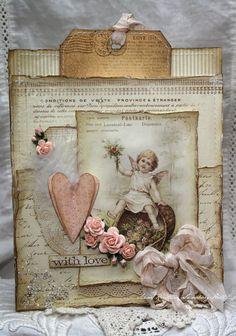 Anne's paper fun: Wild Orchid Challenge 96 - Love is...