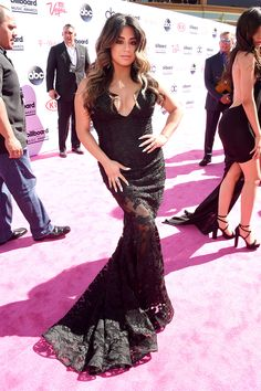 Ally Brooke of Fifth Harmony 2016 Billboard Music Awards Red Carpet at T-Mobile Arena on May 22 in Las Vegas.