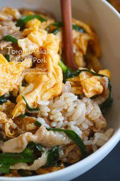 Bento Recipes, Pork Recipes, Veggie Recipes, Asian Recipes, Cooking Recipes, Healthy Recipes, Asian Cooking, Dinner Dishes, Daily Meals