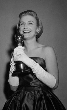 "1957 JOANNE WOODWARD  Best Actress Oscar winner for her work in the movie ""Three Faces of Eve"""