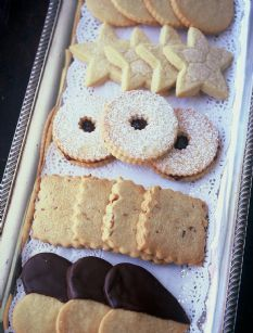 "My fav christmas cookie recipie- Barefoot Contessa - Recipes - ""Linzer Cookies"""