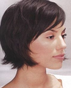 Short Bob with Bangs.. This is so similar to my new hair