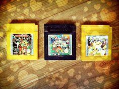 gameboy, jeu gameboy, pokemon jaune, pikachu, donkey kong land 2, game and watch, retro gaming, nintendo
