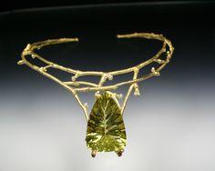 Sam Shaw Jewelry Twig necklace with citrine