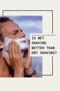 Wet shaving affords you a close and clean shave because the lather serves as a buffer between your razor and your skin. It allows you to cut hair cleanly and it requires you to wash your face before and after you shave which means the chances of getting skin irritations and infections are decreased significantly. We can't say that about dry shaving though.  How about you? How do you do your shave routine?  #NakedArmor #WetShaveProducts #ShaveRoutine #DryShave #WetShave #BeardGrooming… Shaving Tips, Wet Shaving, Beard Grooming, Wash Your Face, Your Skin, Routine, Hair Cuts, Good Things, Haircuts