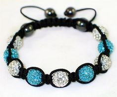 Shamballa  blue-crystal