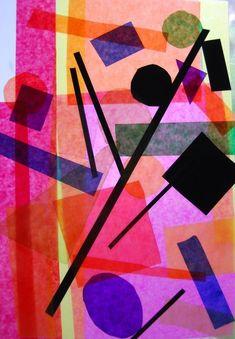 Kandinsky mit Durchblick, Kunstunterricht Grundschule, Anke Kremer