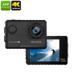 Explorer 2C Action Camera - Sony Sensor, 4K Recording, Wide Angle Lens, 2 Inch Touch Screen, Novatek Chipset - The Explorer 2C Action Camera with Sony sensor and Noveteck chipset offers 4K recording and GoPro styling at an affordable price.