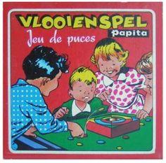 Vintage vlooienspel Papita   Spellen & Puzzels  