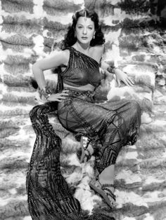 Can't Afford A Vintage Piece of Assiut?  How about a poster of Hedy Lamaar as Delilah from All Posters?  I'm ordering mine now - what a find!