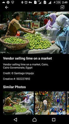 Life In Egypt, Street Vendor, Cairo Egypt, Saint James