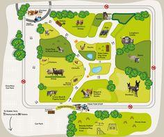 Adam Hensons Cotswold Farm Park Cotswold Surroundings - Us farm locations interactive map