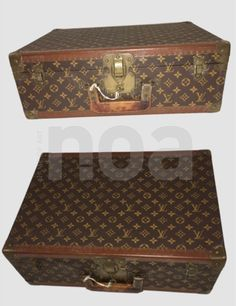 VUITTON VALISE MONOGRAM VINTAGE CIRCA 1940